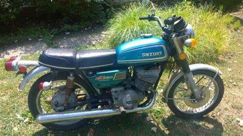 1974 Suzuki Gt250 Buy 1975 Suzuki Gt250 On 2040 Motos