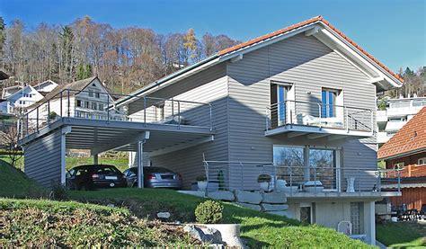 terrasse carport un garage pour votre nouvelle maison swisshaus sa
