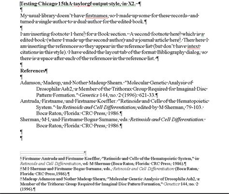 format of footnote reference footnote format chicago generator