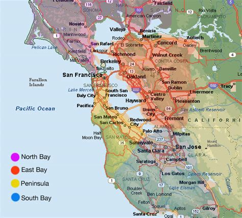 map of bay area bay area lifestyle slater thomson team intero los gatos