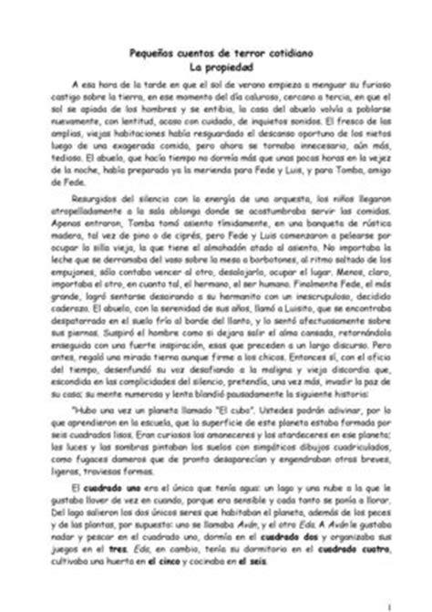 Calaméo - Pequeños cuentos de terror cotidiano, la propiedad