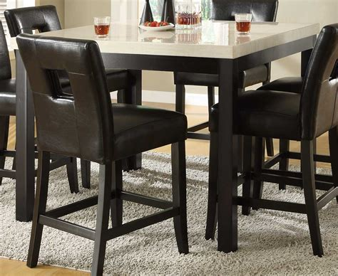 homelegance archstone 5 counter height homelegance archstone counter height dining table 3270 36 at homelement