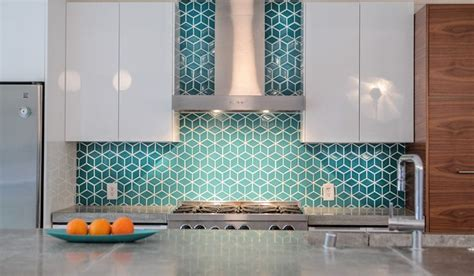 eichler kitchen remodel gorgeous teal backsplash white