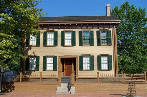 house sites where did abraham lincoln live in springfield