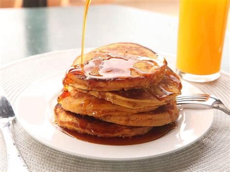 sweet potato pancakes made with leftover mashed sweet potatoes recipe serious eats