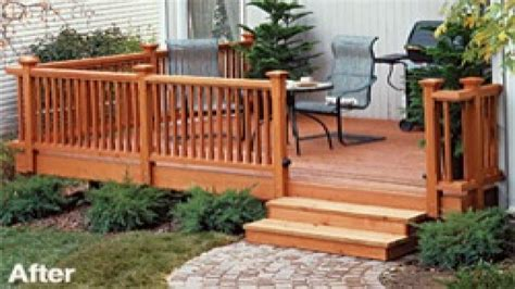 Beautiful decks and patios, inexpensive decks and small