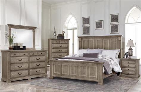 mansion bedroom furniture woodlands driftwood mansion bedroom set from virginia