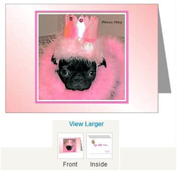 black pug birthday card pugs dogbreed gifts pug greeting cards notecards