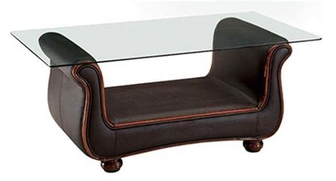 brown glass coffee table brown leather coffee table leather coffee table with