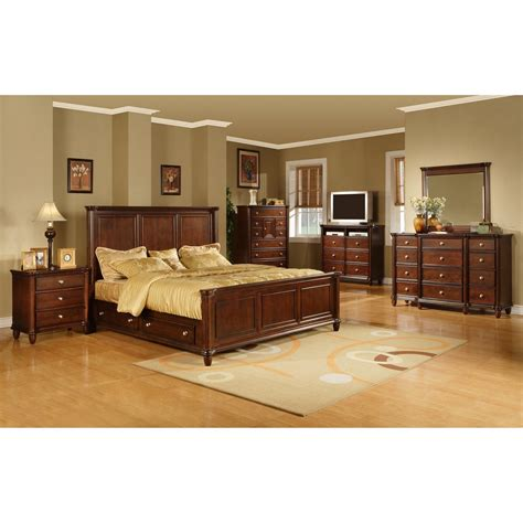 Hamilton Bedroom Set | elements international hamilton bedroom set atg stores