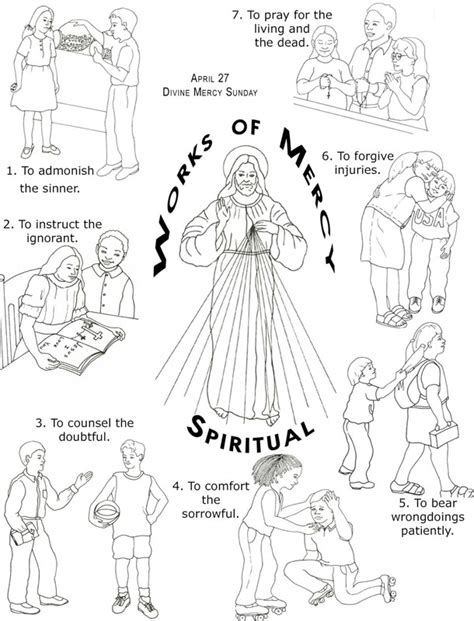 Mountain Of Grace Homeschooling Classically Catholic Works Of Coloring Pages