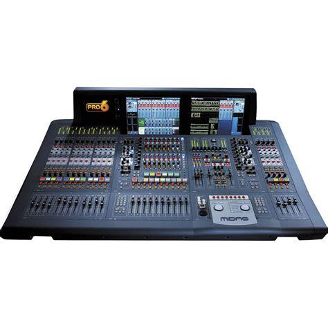 New X Pro6 midas pro6 live audio mixing system with 64 input pro6 cc