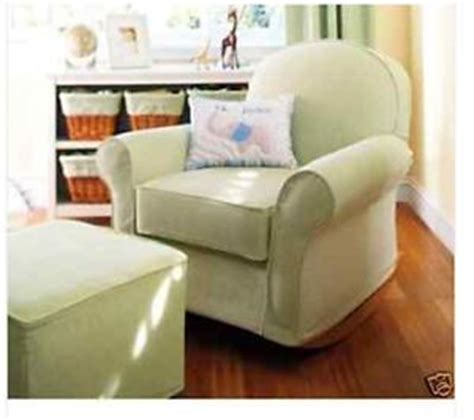 pottery barn dream rocker slipcover amish swivel glider rocker on popscreen