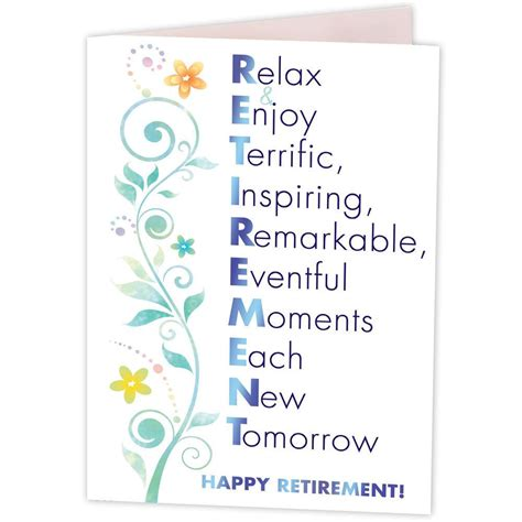 Cards For Retirement Wishes