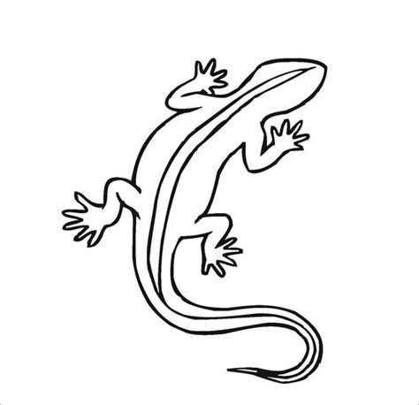 cute lizard coloring pages 22 lizard templates crafts colouring pages free