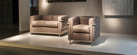 cassina divano sessel sofa lc2 le corbusier jeanneret e perriand cassina