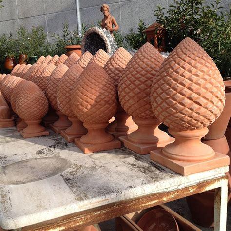 vasi terracotta on line terminali per colonne fratelli vagnoni store per