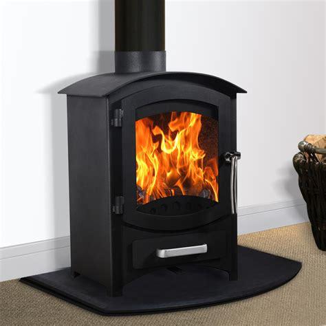 Log Burner Fireplace by Multifuel Woodburner Stove Wood Burning Log Burner Modern Fireplace New Ebay