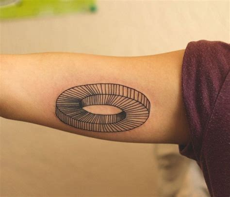 50 nerdy geometric pattern tattoo designs