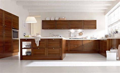 Kitchen Built In Cabinets by 11 Mod 232 Les De Cuisine En Bois Moderne La Chaleur Du Bois