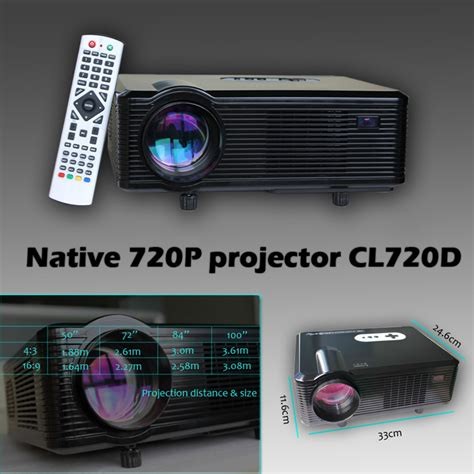 Lu Proyektor Karakter cl720d 3d projector 1080p for home entertainment office