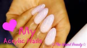 acrylic nails at home how i do my acrylic nails at home