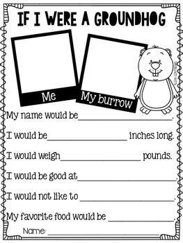 groundhog day espa ol groundhog day craft and activities in and