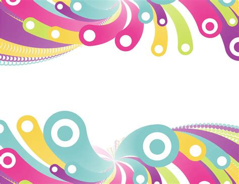 colorful circles free ppt backgrounds for your powerpoint