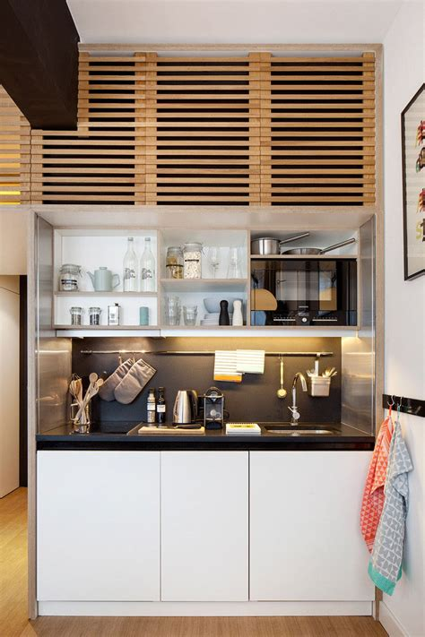 small studio apartment kitchens small square kitchen zoku loft an intelligently designed small home office