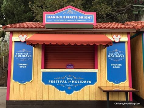 disneyland festival of holidays booths menus and food photos the disney food