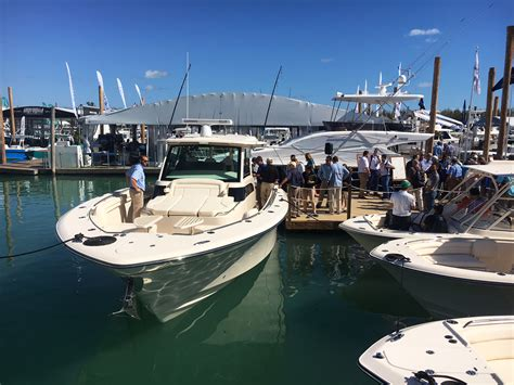 2018 miami international boat show florida sportsman - New Boats Miami Boat Show 2018