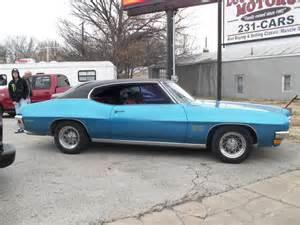 70 Pontiac Lemans Bright Blue Black Cloth Interior V 8 350 Auto