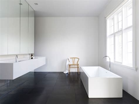 Modern Bathroom White Modern Bathroom In Black And White Ideas And Inspirations To Your New Home Homeidea Co