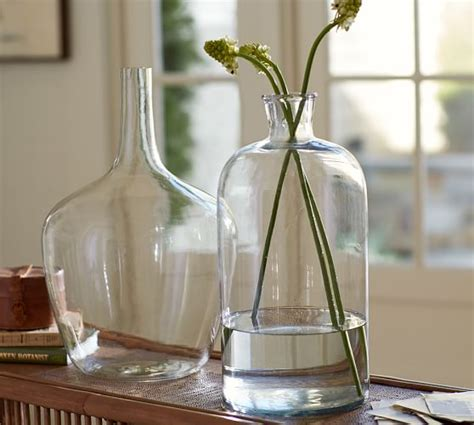 clear glass vases clear glass vases pottery barn