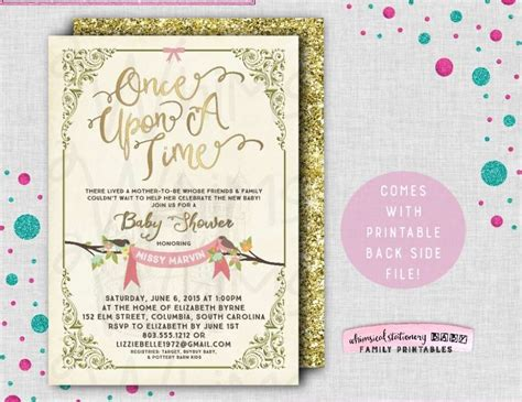 Baby Shower Time by Once Upon A Time Baby Shower Quot Throw An Amazing Tale Baby Shower Quot Catch