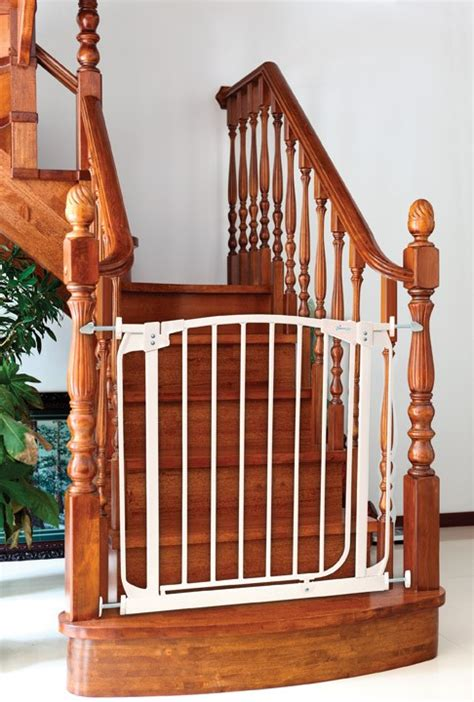 stair gate for banister stair banister gate staircase gallery