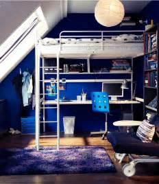 Loft Bed Ikea Ideas Get A Troms 214 Loft Bed That Is Both A Bed And Working Area