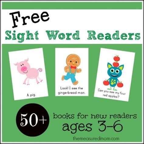 sight word readers 50 sight word phrases sight words for books teach to read with these activities and resources