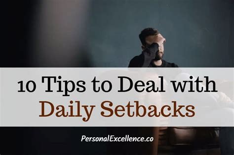 10 Ways To Deal With Your Ex Issues by 10 Tips To Deal With Daily Setbacks Personal Excellence