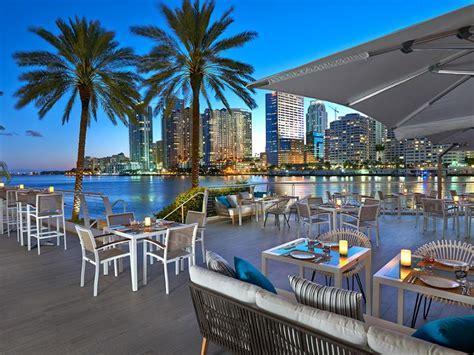 best restaurants in miami best outdoor restaurants in miami food network