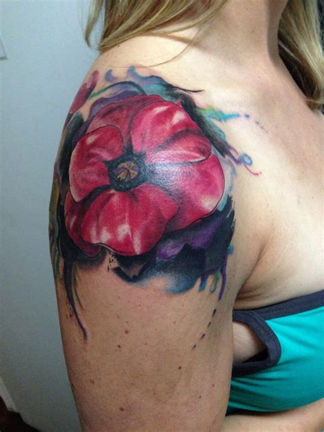 bright ideas tattoo best 25 watercolor poppy ideas on