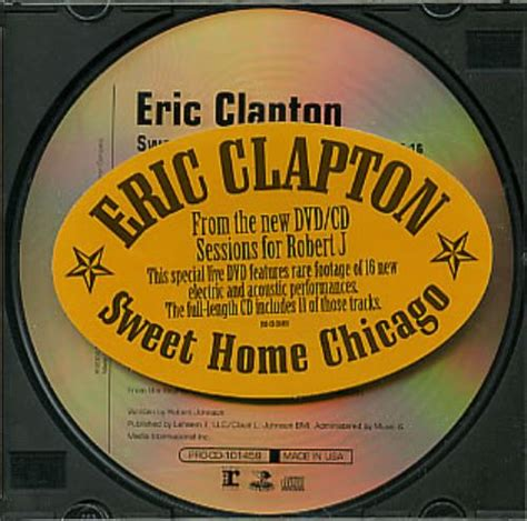 eric clapton sweet home chicago us promo cd single cd5