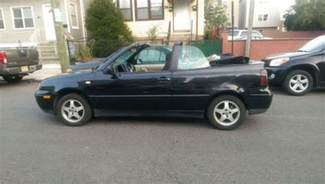 volkswagen convertible 2000 find used 2000 volkswagen cabrio convertible in barnegat