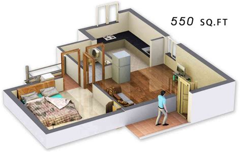 550 sq ft 550 sq ft 1 bhk 1t apartment for sale in dac promoters