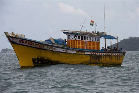 fishing boat price in india indian crew released while captains face charges in