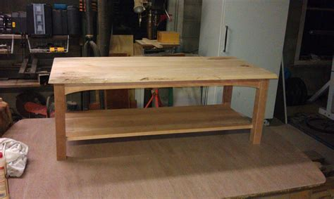 ana white maplecherry coffee table diy projects