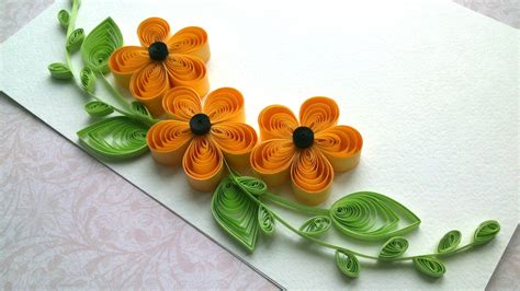 Handmade Craft Ideas Paper Quilling - quilling ideas quilling designs flowers and quilling