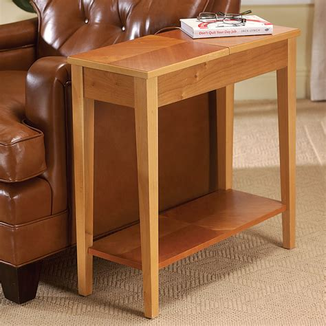 living room end tables with storage narrow end table with storage narrow end table for