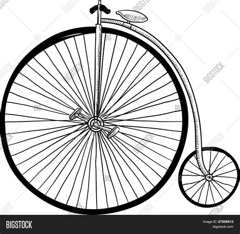 doodle bmx fashioned bicycle sketch stock vector stock photos