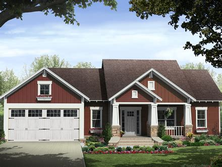 ranch style bungalow floor plans ranch style house craftsman style ranch home with front